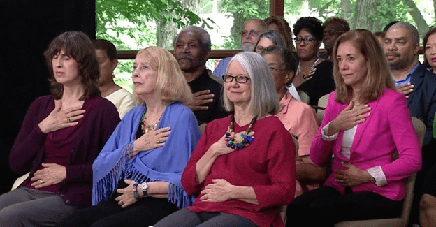 SuperHealing Secrets Audience breathing exercise